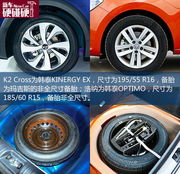 实用的精品SUV 起亚K2 CROSS对比桑塔纳-图9
