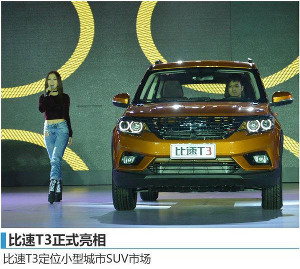 比速品牌/新车正式发布 将于11月底上市-图2
