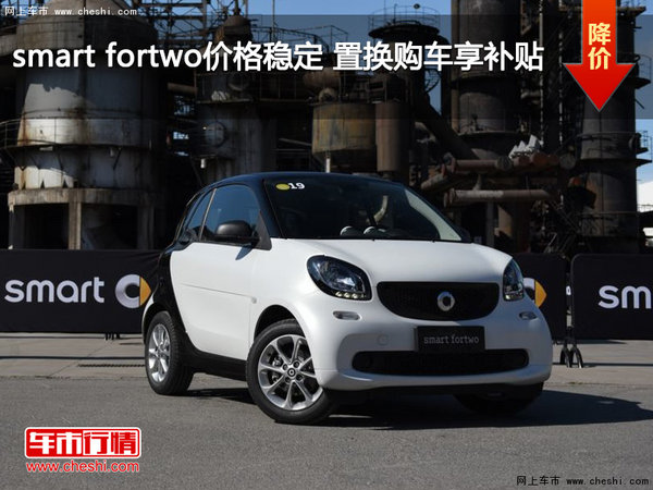 smart fortwo价格稳定 置换购车享补贴-图1
