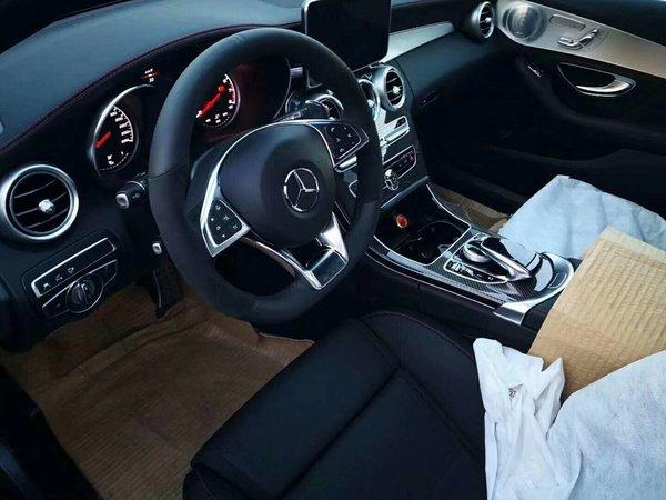 新款奔驰C43AMG 哑光灰特别版惊爆68.8万-图4