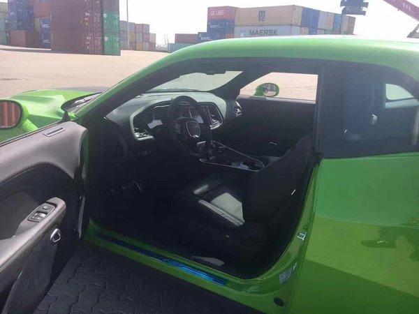 新道奇挑战者 霸气绿色全国仅此一台现车-图8