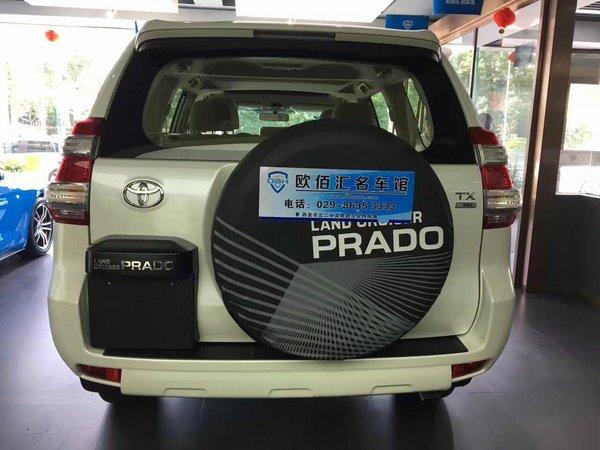 西安霸道2700现车优惠 丰田普拉多36.5万-图3