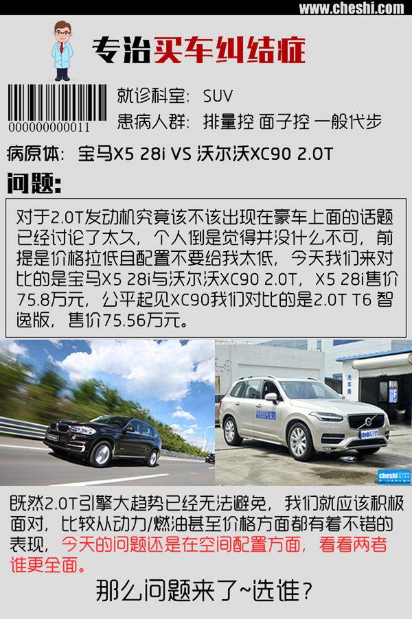 专治买车纠结症 宝马X5 28i对沃尔沃XC90-图1