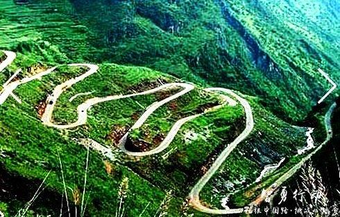 """没去过这些路你也能说喜欢自驾?——盘点中国十大""""最弯""""公路-图6"""