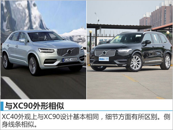 沃尔沃紧凑级SUV XC40 将上海车展发布-图2