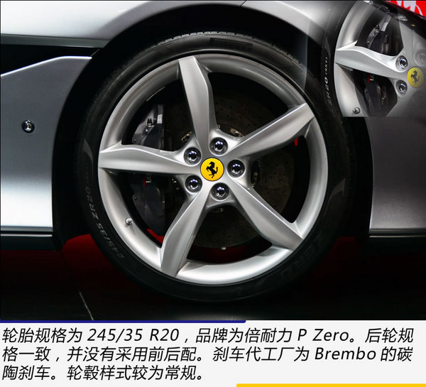 Fphone SE开卖了 广州车展实拍法拉利Portofino-图8
