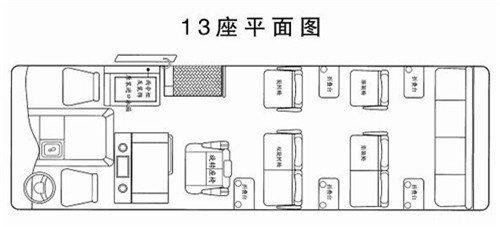 丰田柯斯达12座-23座改装年底优惠15万-图13