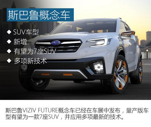 斯巴鲁将推全新7座SUV 有望引入国内-图-图3