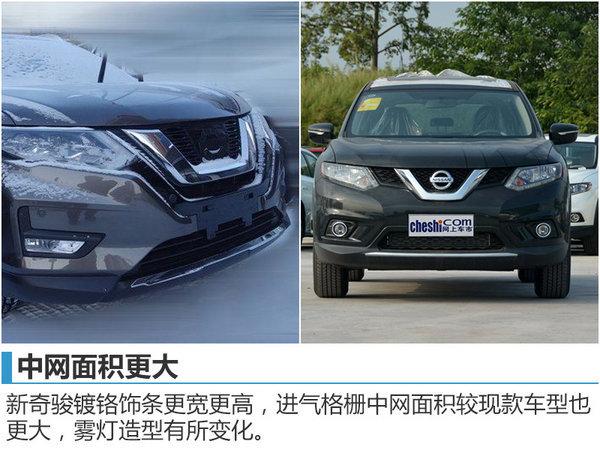 东风日产新奇骏即将上市 车身尺寸加长-图-图4