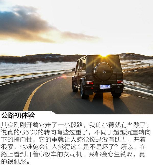 勇敢坚毅无出其右 冰雪试驾2017款奔驰G500-图5
