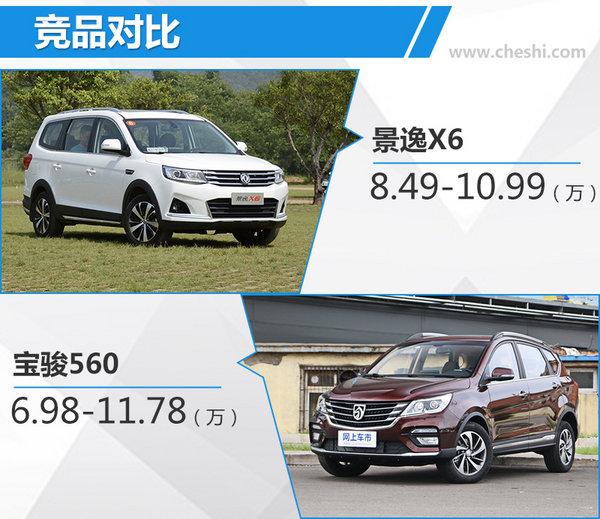 东风风行全新景逸X5 1.5T/X6上市 8.49万起售-图3