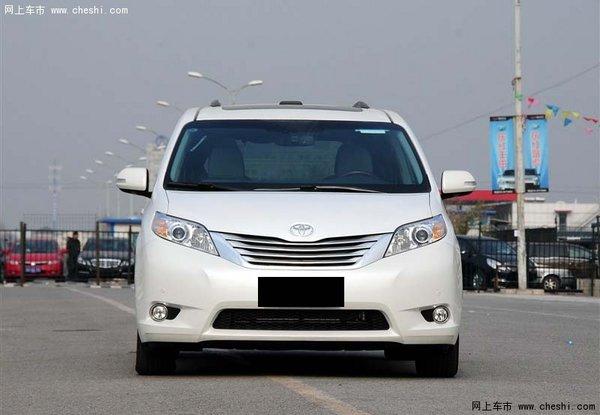 配置方面:2014款丰田塞纳双天窗,电动伸缩滑动天窗,电动方向高清图片