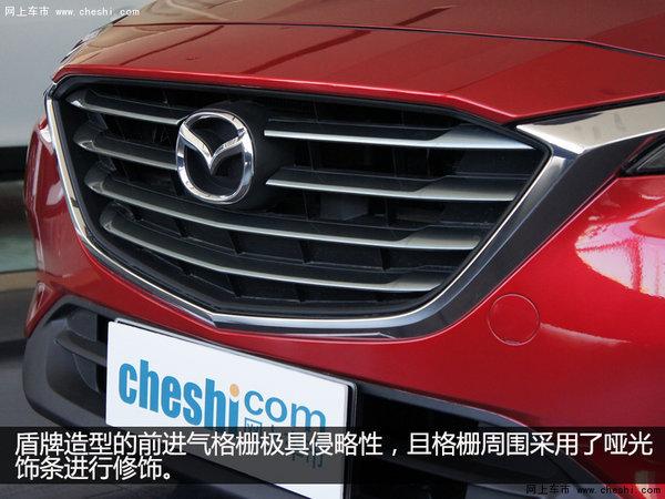 未来派轿跑SUV  银川实拍一汽马自达CX-4-图4