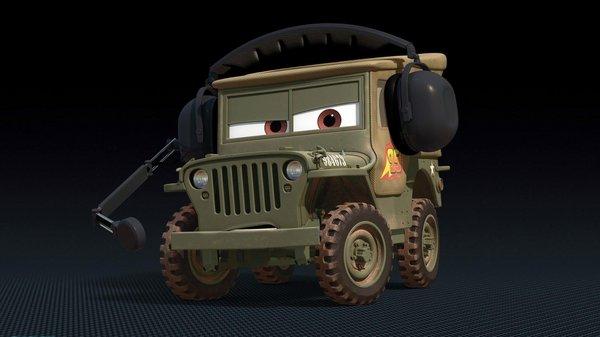 《赛车总动员3》中角色的原型车你认识几个?-图11
