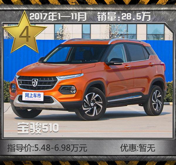 最热销10款SUV车型! 11月清仓大甩卖/最高7折-图7