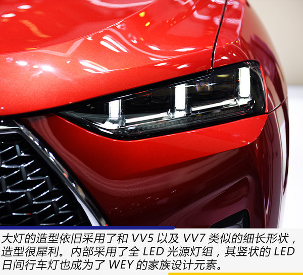 紧跟新能源车潮流 广州车展实拍体验WEY P8-图6
