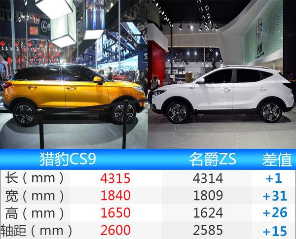 猎豹CS9小型SUV上市 售7.68-11.68万-图5