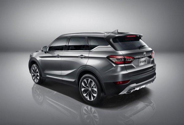 颠覆格局 宽体智联SUV中华V6全球首发-图5