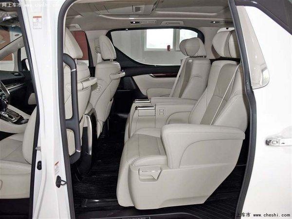 16款丰田埃尔法价格 奢华内舱空间埃尔法-图9