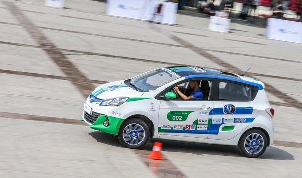 第四届电动汽车挑战赛上演速度与激情-图5
