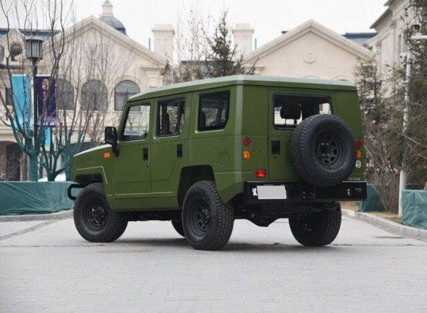 2017款北汽勇士特卖 2.0T汽油特价12.5万-图4