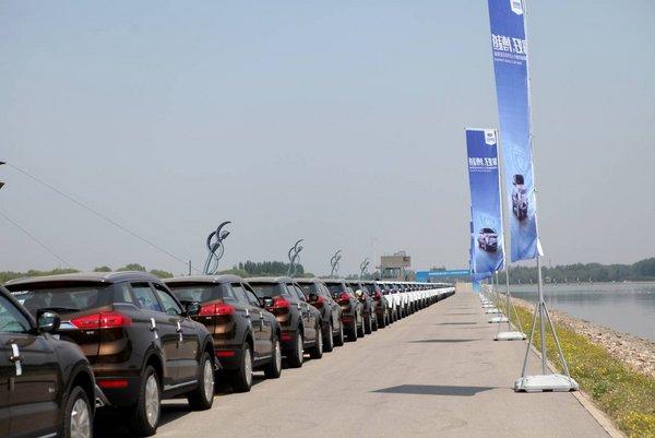 博越熱銷一線城市 北京車主千人交車儀式-圖7
