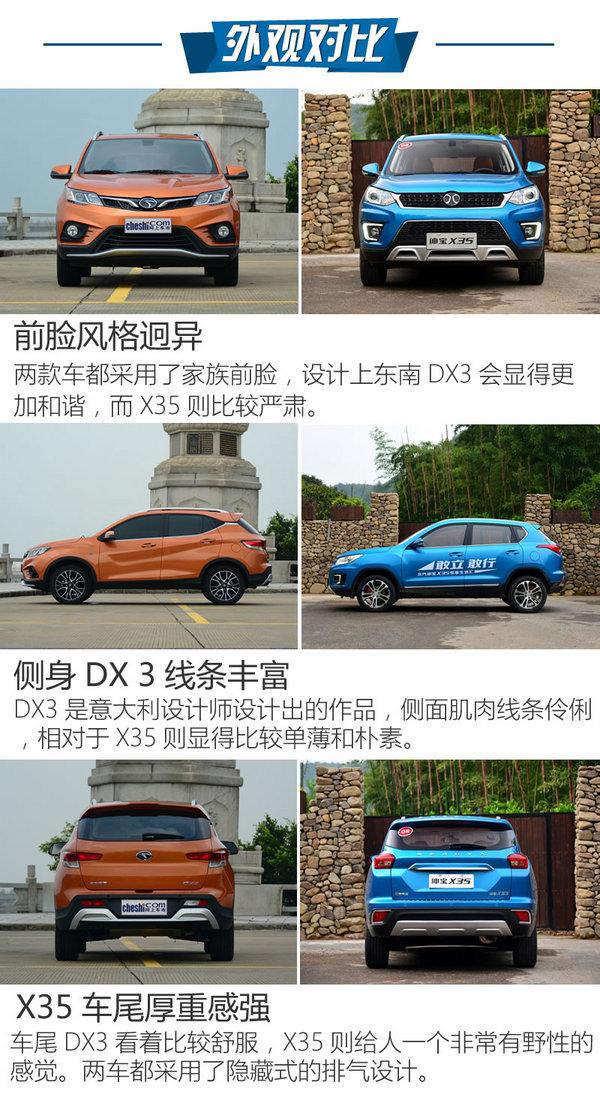 高性价比/大空间 东南DX3对比绅宝X35-图4