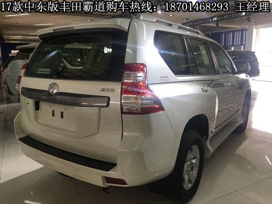 2017款中东版丰田霸道 现车齐全