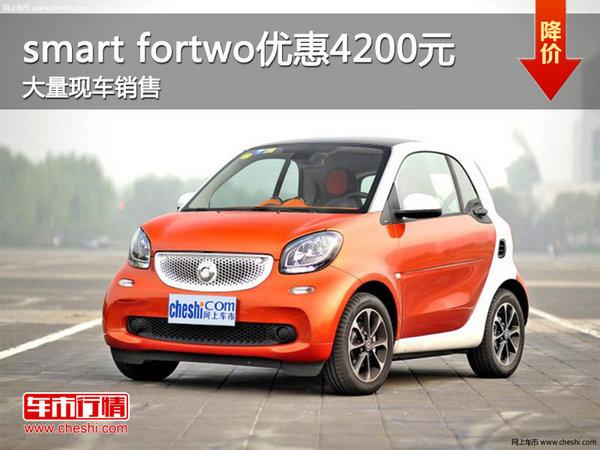 smart fortwo优惠4200元 竞争大众UP!-图1