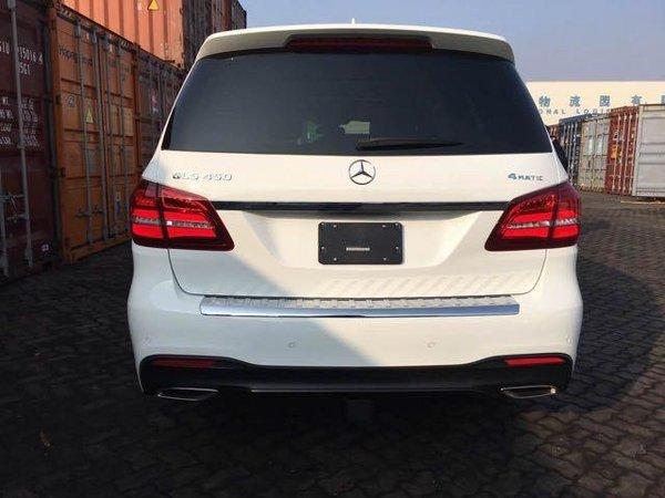 17款奔驰GLS450平行进口 天津美规版价格-图3