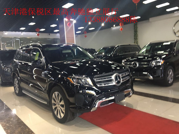 创】近日获悉,2017款奔驰GLS450现车到店,天津现车销售新款奔