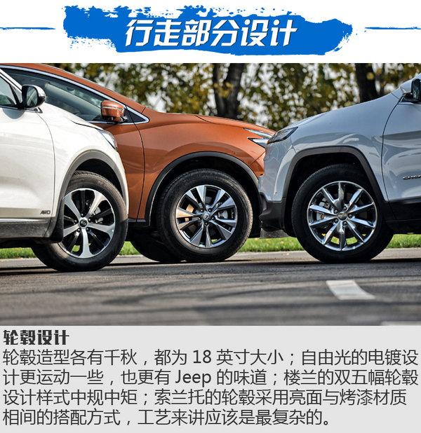 三国鼎立之SUV横评 自由光/楼兰/索兰托对比-图8