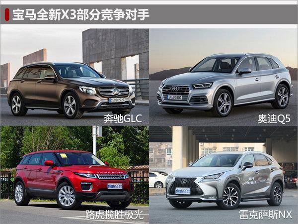 """宝马X3国产-配件工厂动工 新外观超""""狂野""""-图7"""