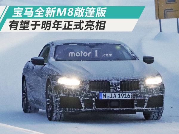 宝马将推全新M8敞篷版 明年亮相/搭4.4T引擎-图1