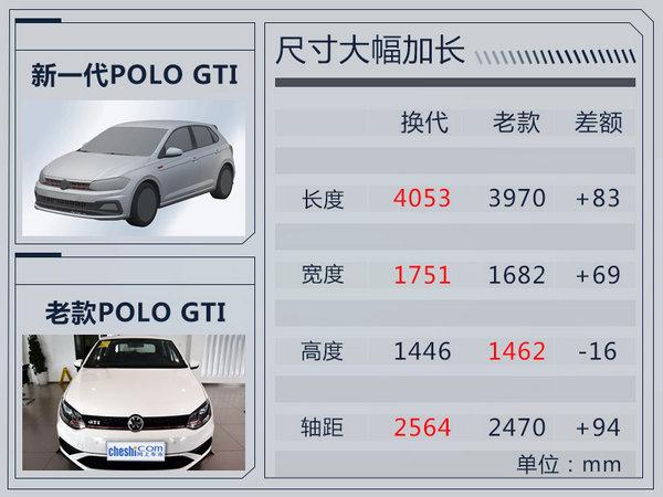 上汽大众将推新一代POLO GTI 轴距加长94mm-图1