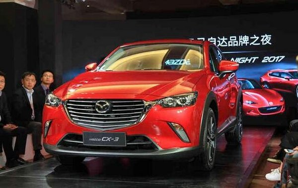 马自达CX-3预计售13万 2.0L先进口后国产-图1