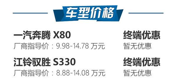 空间比外观更惊艳 奔腾X80对比驭胜S330-图2