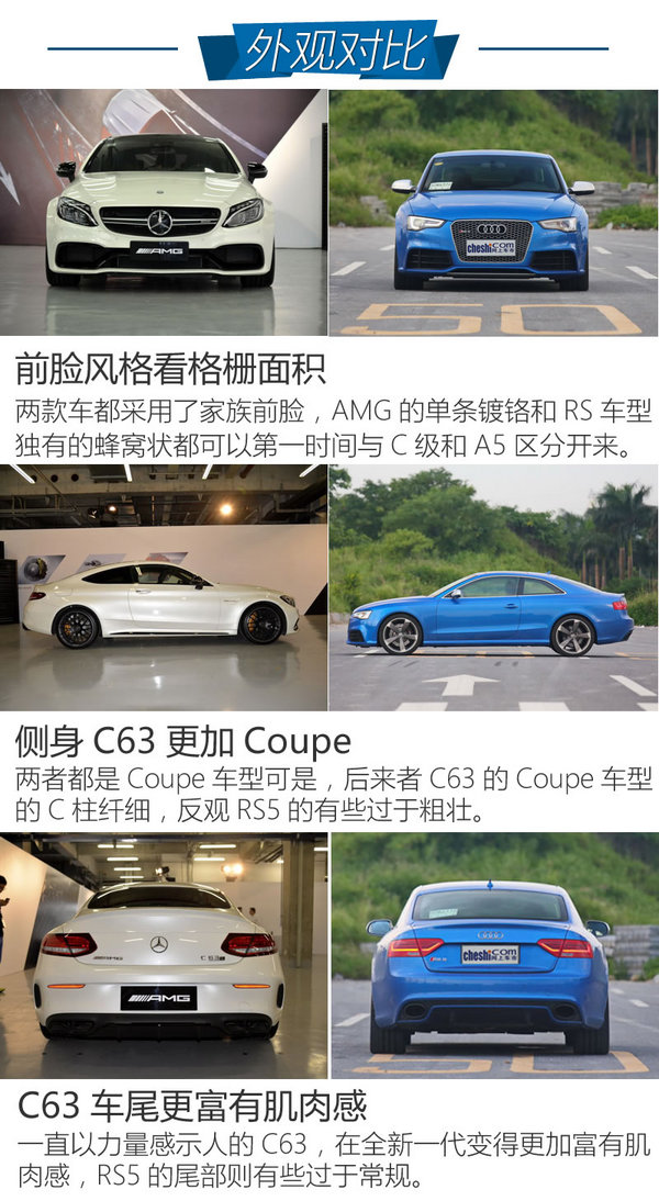 奔驰C63 Coupe奥迪RS5 选涡轮还是自吸-图1
