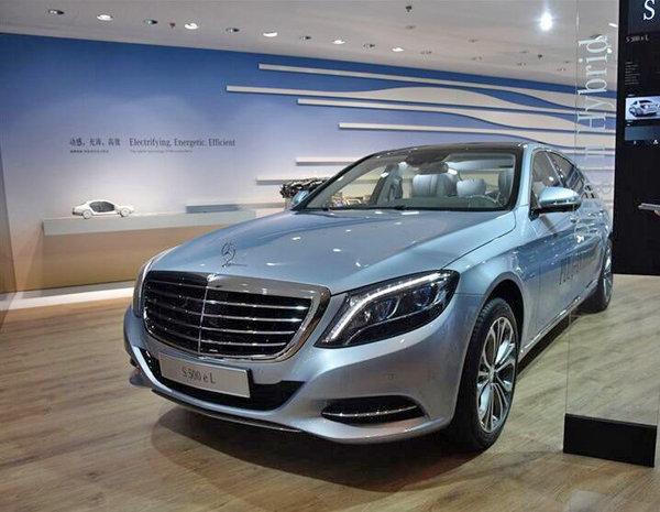 混动车奔驰S 500 eL正式上市 售175.8万_奔驰S级_进口新车-网上车市