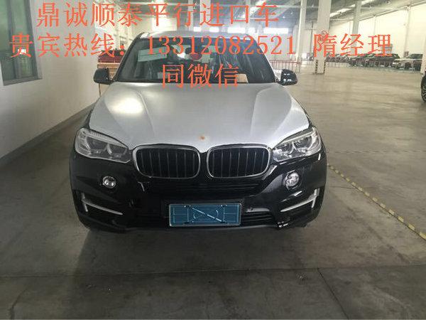 创】近日获悉,2017款宝马X5进口3.0T现车到店,美规版68万一手高清图片