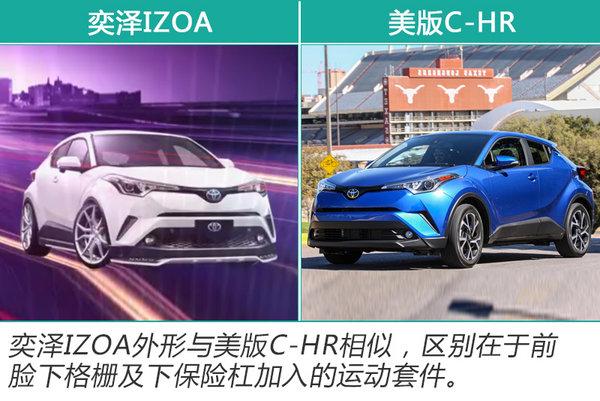 一汽丰田全新小SUV—奕泽实车曝光 将于5月上市-图2