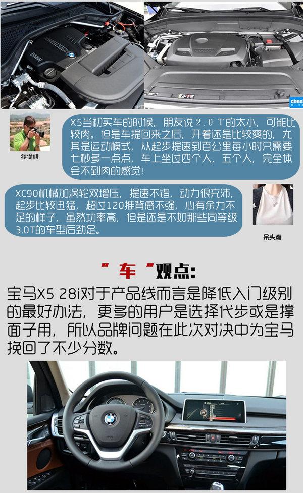 专治买车纠结症 宝马X5 28i对沃尔沃XC90-图5