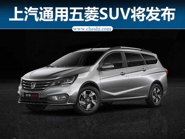 上汽通用五菱 SUV等两车4月19日将发布-图1