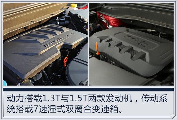 哈弗H4全新紧凑型SUV亮相 搭1.3T与1.5T引擎-图4