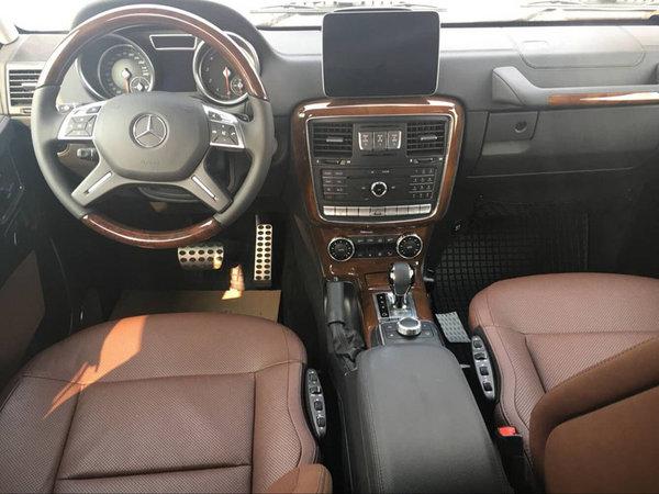 17款奔驰G500现车 优雅复古越野降价飓风-图5