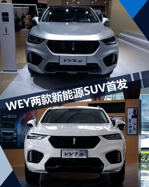 长城WEY2款电动SUV首发 实现电动四驱功能-图1