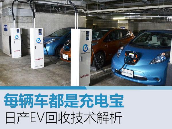 每辆车都是充电宝 日产EV回收技术解析-图1