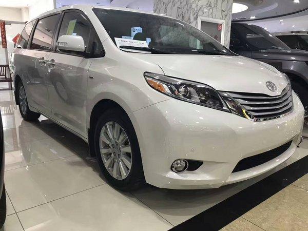 2017款丰田塞纳四驱 顶配商务车底价酬宾-图2