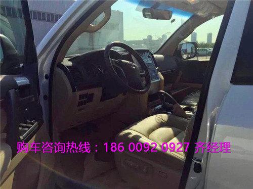 丰田兰德酷路泽4000中东版 4.0陆巡价格-图3