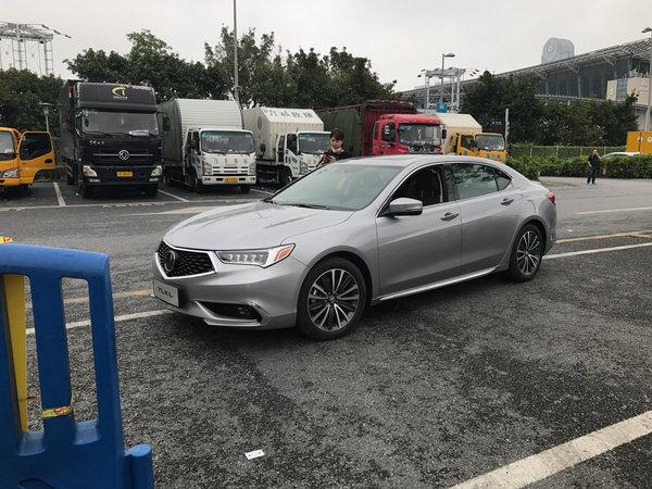 2017广州车展探馆:广汽讴歌国产首款轿车TLX·L-图2